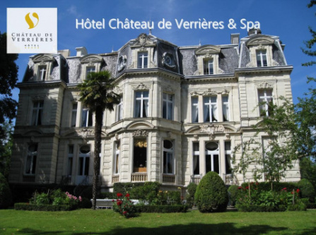 Hotel Château de Verrières & Spa - The Originals Collection