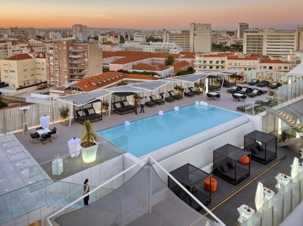 Luxury hotels with outdoor pool in lisbon - Hotels in lisbon portugal with swimming pool ...