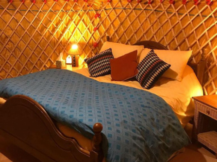 McClure Yurt at Carrigeen Glamping